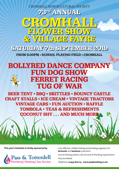 Cromhall Flower Show & Village Fayre competition
